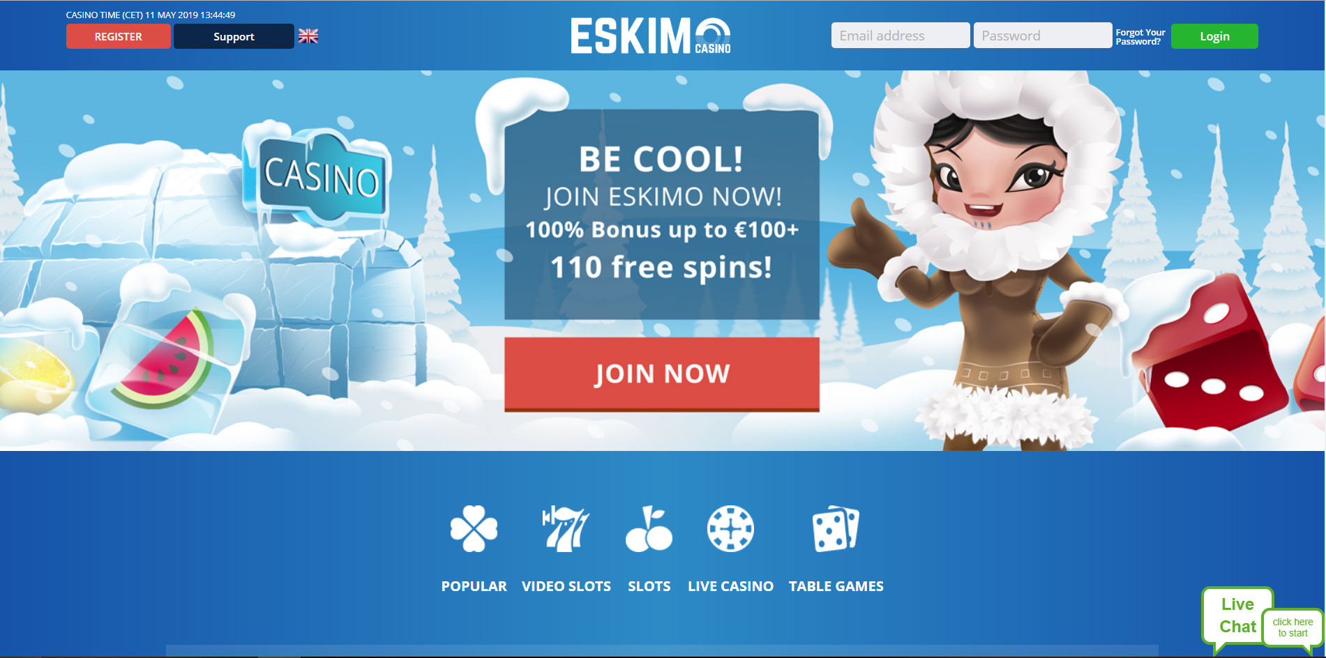 Home Eskimo Casino